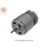 RS-385 12v dc motor for hair dryer and power tool,donghui motor