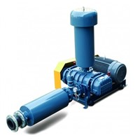 three lobes roots blower manufacturer sewage treatment aeration blower