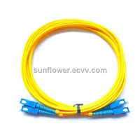 SC SC Fiber Patch Cord (PC/UPC Single Mode Duplex )
