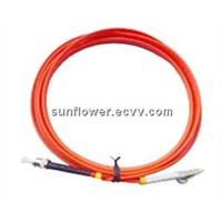 SC ST Fiber Patch Cord (PC/UPC Multi Mode Simplex )