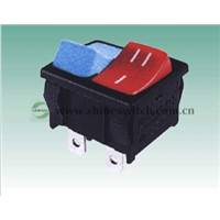 Shanghai Sinmar Electronics RL3-2(D) Rocker Switches 6A250VAC 3PIN Ship Paddle Switches