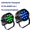 LED Flat Par Waterproof 12*15w RGBWAP 6 in 1 Stage Light/Pub Light/Bar Light