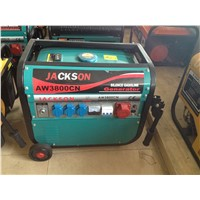 3KW 100% COPPER WIRE GASOLINE GENERATOR  WITH WHEEL AND HANDLE FOR HOT SALE