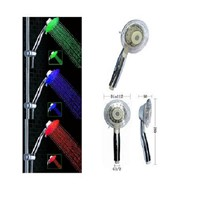 beauty salon multiple color led shower head RC-9806