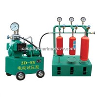 Nitrogen filling machine and gauge check machine
