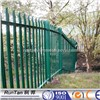 powder painted steel palisade fencing