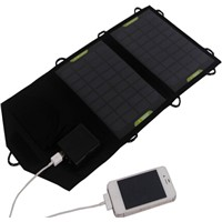 7W outdoor folding solar mobile phone charger for mobile phone/tablet PC/iPhone/power bank