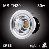 Hot sale 30W LED COB downlight Cree chip projector lamp SAA made in China