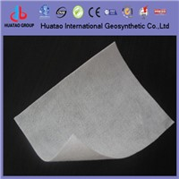 Staple fiber nonwoven needle punched geotextile