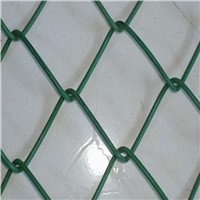 cheap professional 9 gauge pvc coated chain link wire mesh fencing