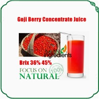 China organic goji berries extract Concentrate juice Brix 36%, 45%