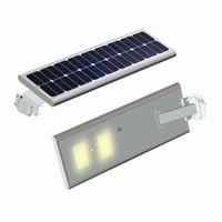 High Quality All In One Solar Power LED Street Light 50W With Motion Sensor