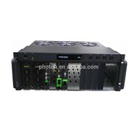 Optical Platform Chassis with 14 modules (dual power)