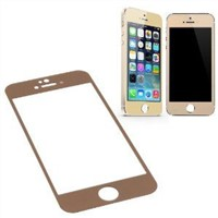 Premium 9H Hardness Color Tempered Glass Screen Protector For Iphone 5