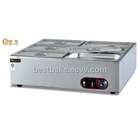 Table Top 6-Pan Stainless Steel Bain Marie BY-EH6