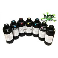 UV Ink for UV LED Flatbed Digital Printers (white ink available)