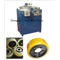 elastomer truck wheel making machine