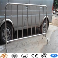 Haotian temporary hot dipped galvanized crowd control barrier factory