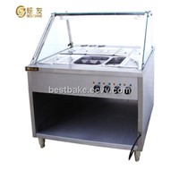 Freestanding Electric 6-tank bain marie BY-EH810
