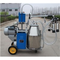 Piston type Cow milking machine