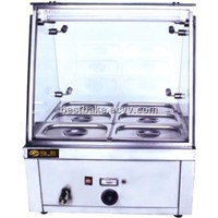 6 Pans Bain Marie/Food Warmer Bain Marie with Glass BY-EH710