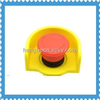 22mm Dia Push Switch Button Control Station Circle Safeguard Box