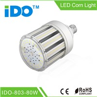 CE approved 80w Led Street Corn Light with internal driver and external driver