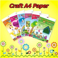 Craft A4 paper for craft work in school and kindergarten