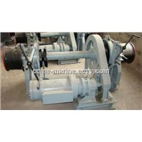 Marine windlass anchor system