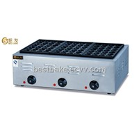 Electric 3-Pallet Fish Pellet Grill/takoyaki machine(BY-EH768)