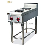 Vertical Electric Range with 2-Burner BY-EH877-1