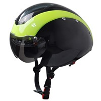 Custom welding helmet, bicycle helmet ce approved with goggle visor