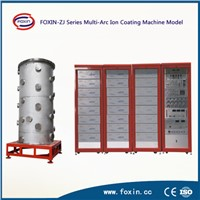 Titanium Vacuum Steel Pipe Coating Machine