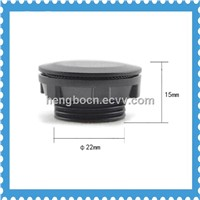 push button switch panel plug 22mm Dia Black colour