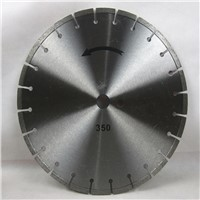 300-800MM laser Welded diamond cutting tools saw blade for Asphalt