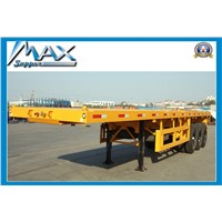 40ft Tri axle Flatbed Semitrailer