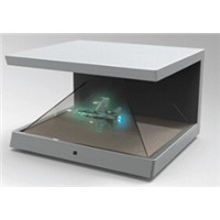 Hologarm 3D display 4D display showcase/box for advertising, exhibition 3D hologram displayer