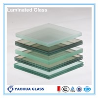 8.38mm Clear Laminated Safety Glass with AS/NZS 2208 certification