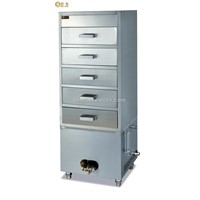 Stainless Steel Gas Steam Cabinet BY-GH5J