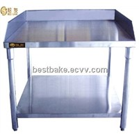 Stainless Steel Restaurant Food Prep Work Table with Under Shelf (BY-WK1000)