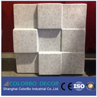 living room strong impact resistance 3D wall panel