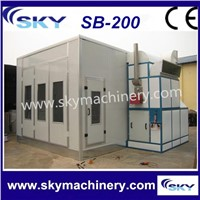 SB-200 Automotive paint oven/forno per verniciatura usato/spray booths
