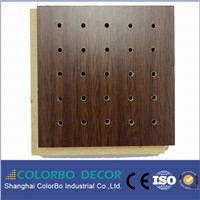 sound damping wooden acoustic panel for conference room decoration