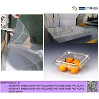 super clear A-PET film for packaging food