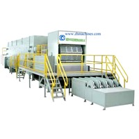 6000pcs/Hour Egg tray machine, Pulp mold making machine