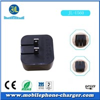Brand new China suppier for phone or MP3 MP4 small power 5V 1A USB travel cherger