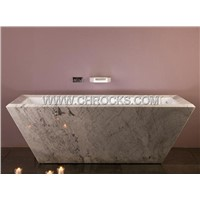 Carrara White Bathtub,White Marble Bathtub,Stone Bathtub,Marble Bathtub