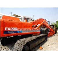 used hitachi ex200-3 excavator cheap fpr sale