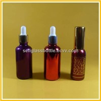 Electroplating Essential Oil Bottles With Dropper