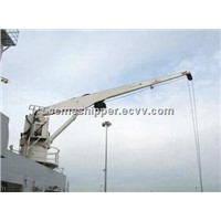 Marine electric hydraulic deck crane Hot sale